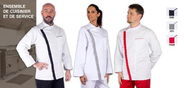 LARIO - Veste cuisinier